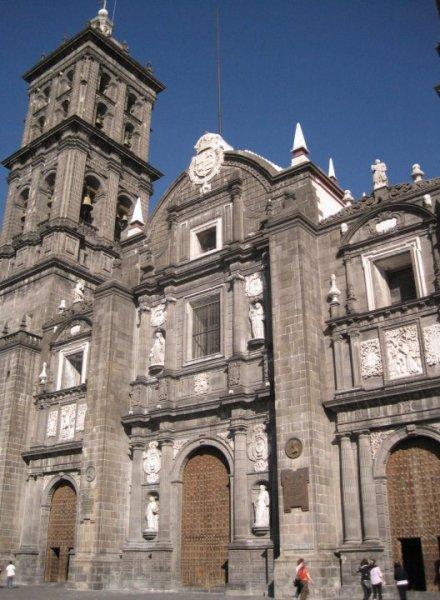 Catedral de Puebla, Puebla, Iglesia