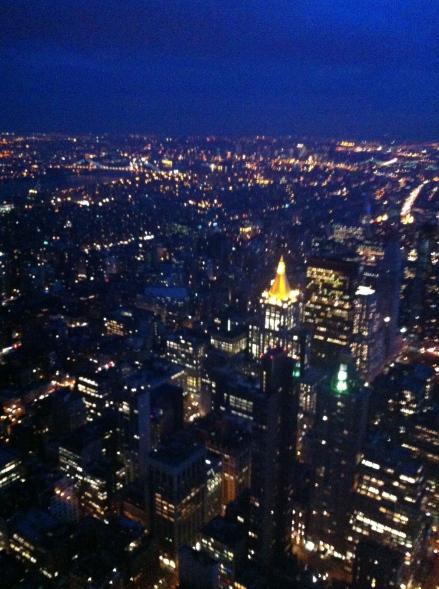 Panoramica New York City, NYC, Foto desde el Empire State, New York City