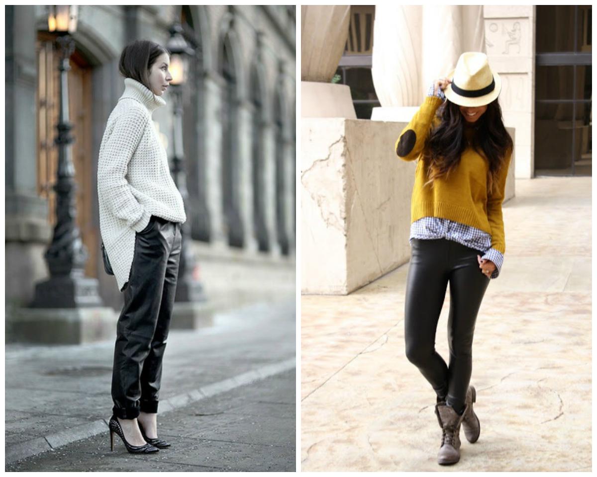 Leather pants, pantalones de piel