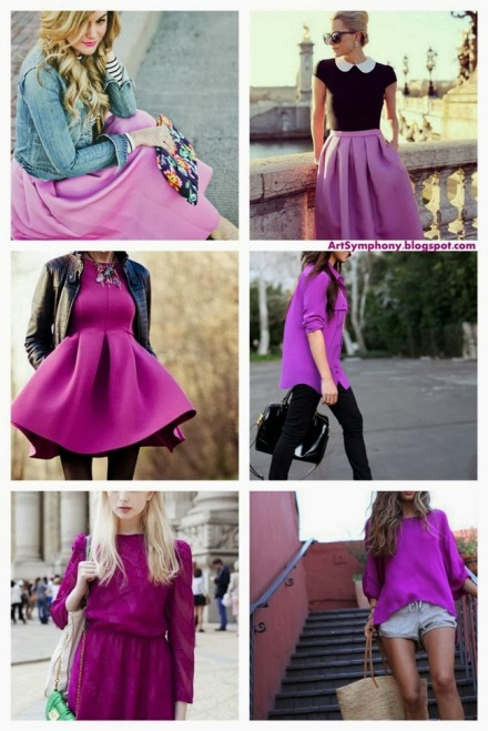 ArtSymphony_Pantone 2014 Color of the Year Radiant Orchid